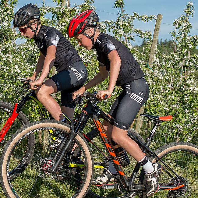 Elite henkselliset pyöräilyshortsit juniori