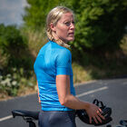 Pro cycling shirt women`s