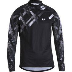 Trail Shirt LS Men Black / White S