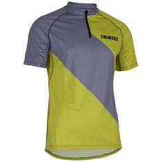 Trail Shirt SS Men Light Steel / Lime S