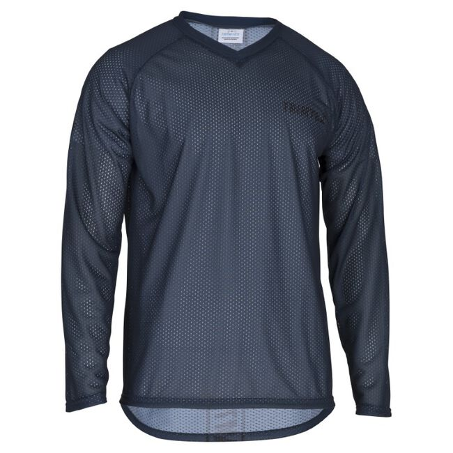 Basic Mesh O-Shirt LS
