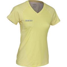 Flow Solid V-Neck T-Shirt Women