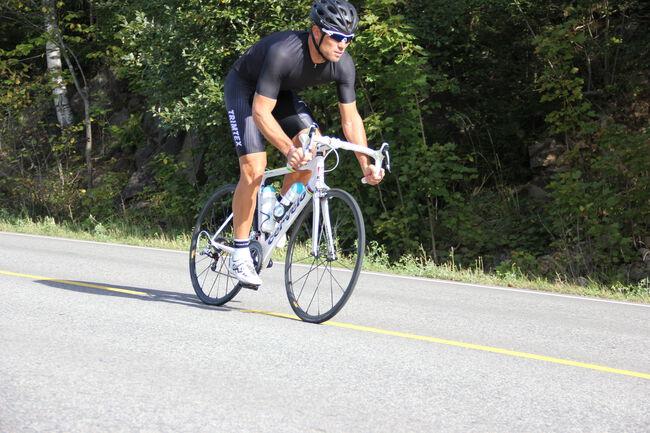 Aero cycling bib shorts men's