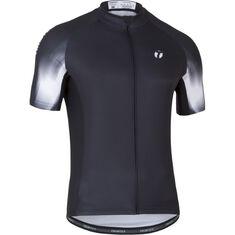 Elite 2.0 Shirt SS Men Black / White Brush S