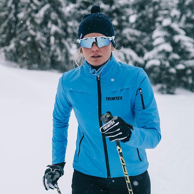 Aviator ski jacket women`s