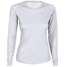 Fast T-Shirt LS Women White XS