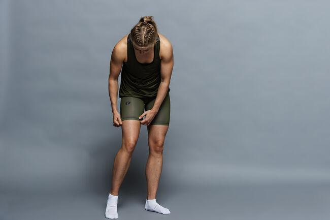 Run 2.0 short tights women's