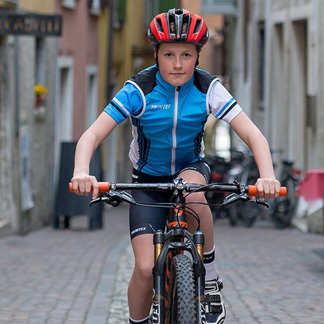 Team cycling vest junior