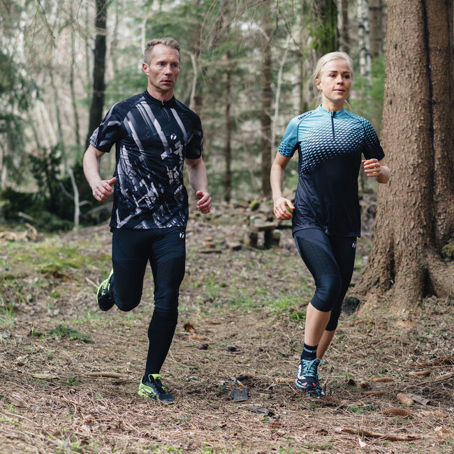 Trail 3/4 tights women's