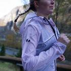 Feather running jacket women's