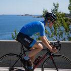 Pro cycling bib shorts men's
