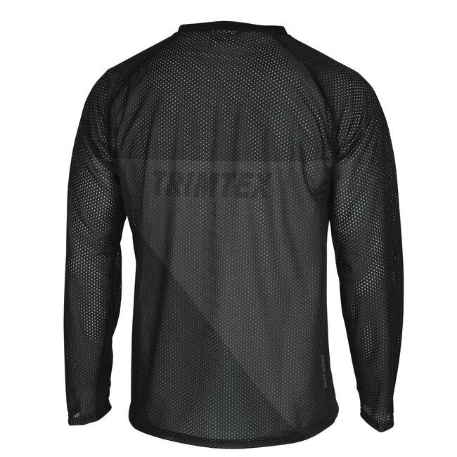 Basic Mesh LS o-shirt